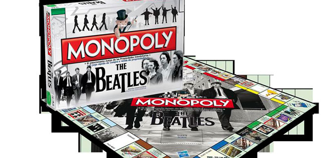Sale a la venta del Monopoly de los Beatles