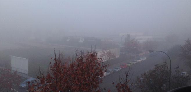 La niebla se adueña de Mallorca