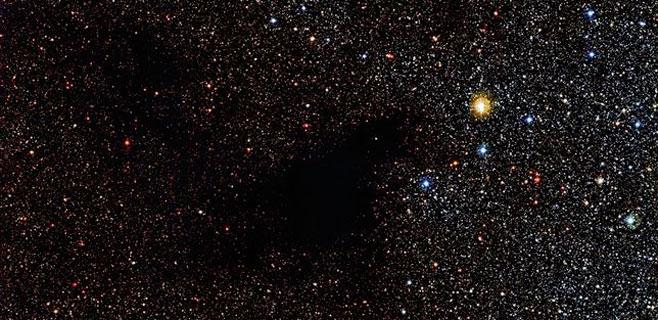 Hallados cientos de estrellas ocultas tras una gran nube