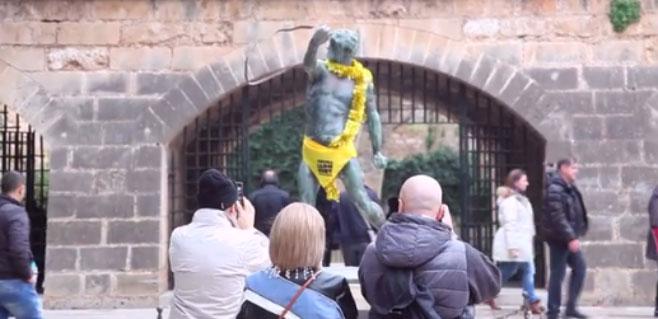 Orgull Llonguet quiere vestir Palma de amarillo