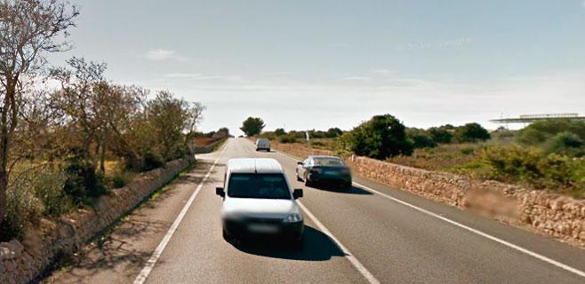 Cuatro heridos en una colisión frontal entre el Puig den Ros y Sa Torre