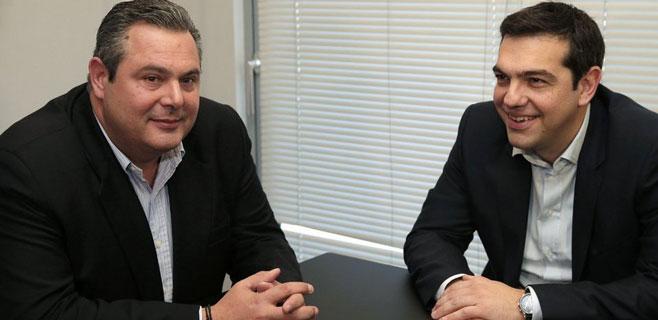 Syriza y Griegos Independientes formarán gobierno