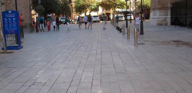 Cort reparará el pavimento de la Seu y Almudaina