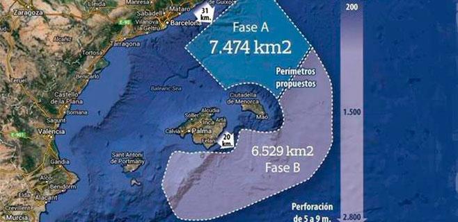 El Gobierno intenta camuflar otro proyecto de sondeos en el mar balear