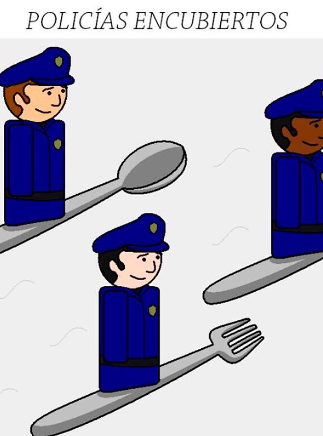 Policías encubiertos