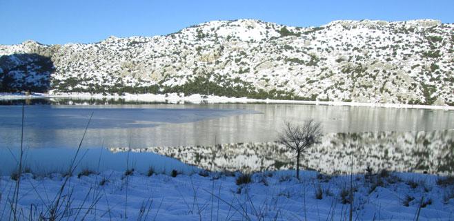 La nieve hace subir un 5 % las reservas de Cúber y Gorg Blau
