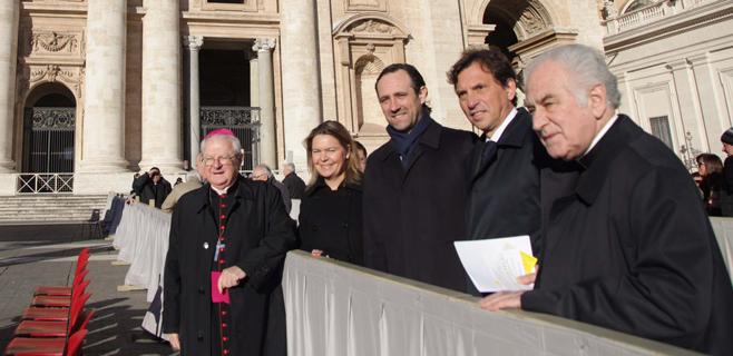 Bauzá invita al Papa a visitar Mallorca por la canonización de Ramon Llull