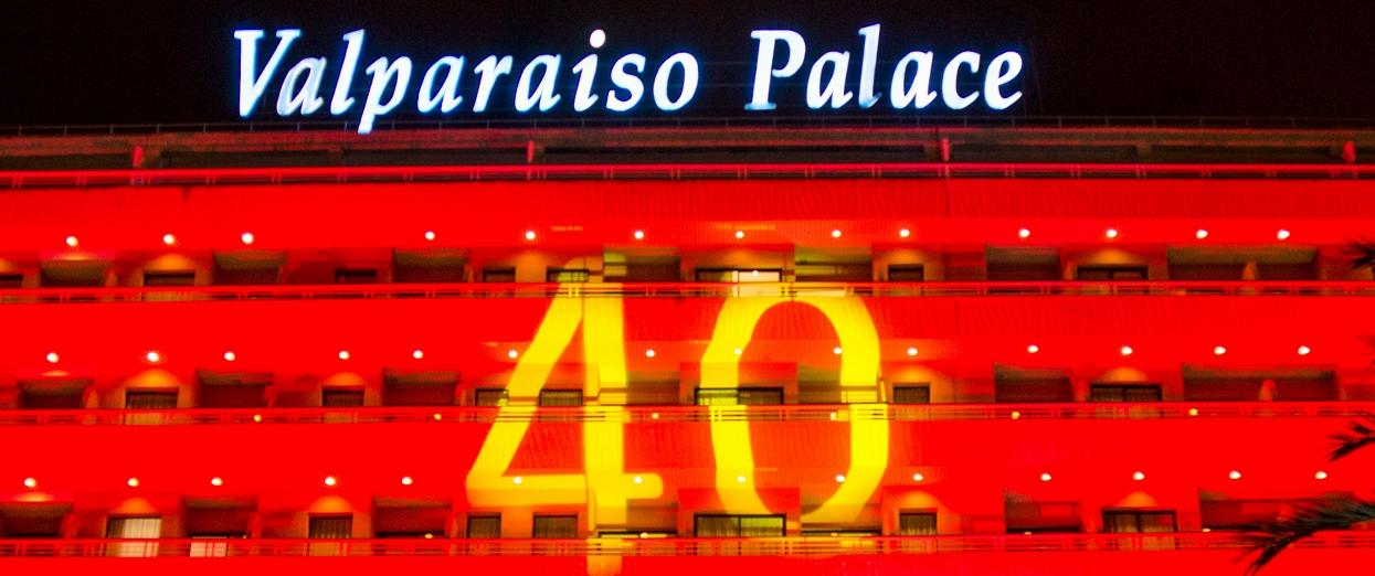GPRO Valparaiso Palace & SPA celebra su 40 aniversario con una fiesta por todo lo alto