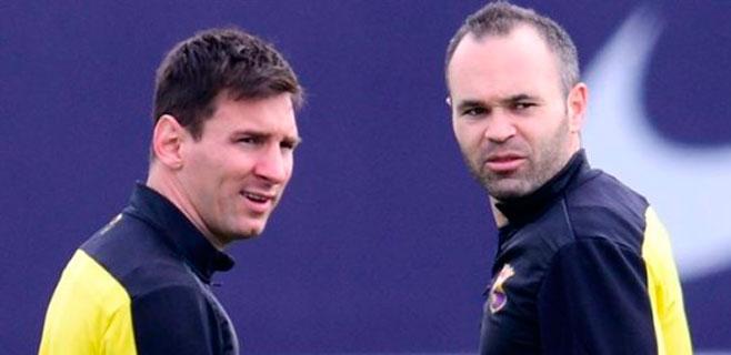 Messi e Iniesta volverán a ser padres