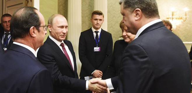 Rusia y Ucrania pactan un alto el fuego
