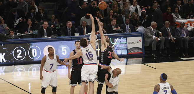 Pau se lleva el salto y Marc el partido en el All Star de la NBA