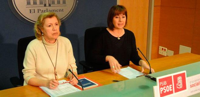 El PSIB acusa al PP de volver veinte años atrás con su ley de transparencia