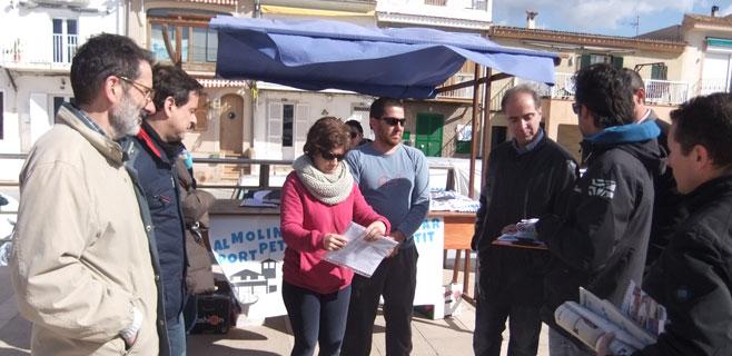 Fuster (PI) promete que si gobierna en Palma El Molinar tendrá