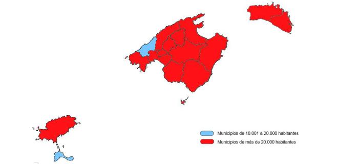 UPyD presenta su propuesta de eliminar hasta 51 municipios de Balears