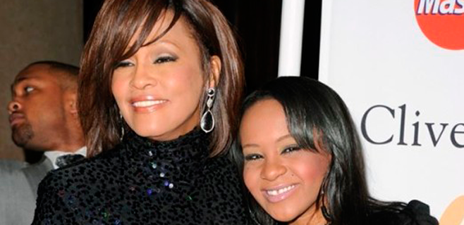 Aparece inconsciente la hija de Whitney Houston