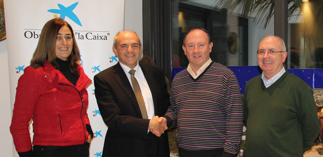 La Caixa dona 9.000€ al colegio Virgen del Carmen