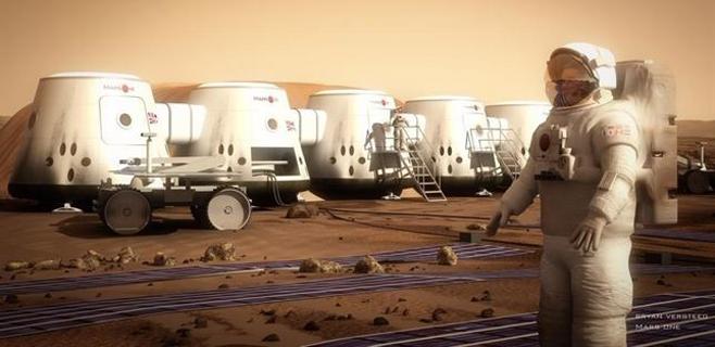 Dos españoles entre los candidatos a colonizar Marte