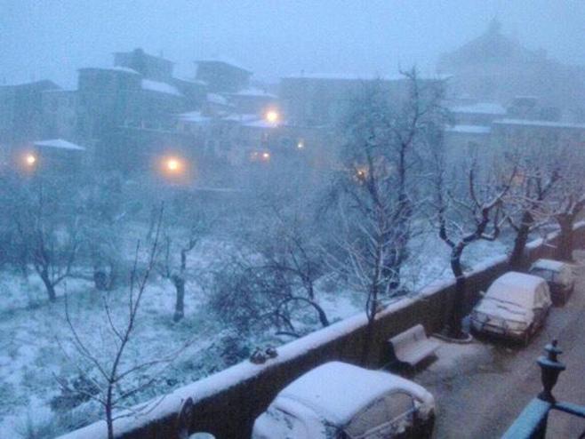 Mallorca despierta nevada