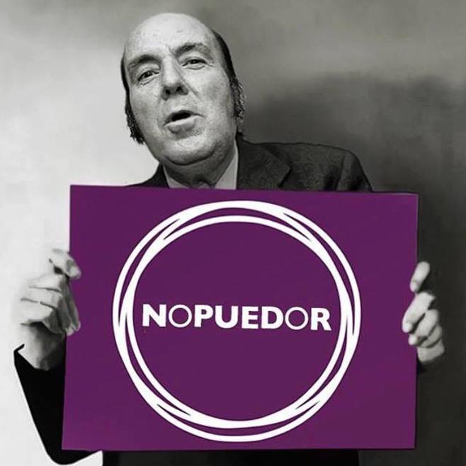 Chiquito no quiere saber nada de Podemos