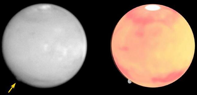 Descubierta una insólita nube en Marte