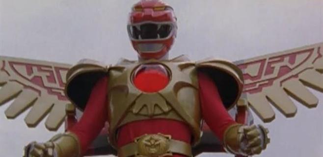 El Power Ranger rojo sale de prisión