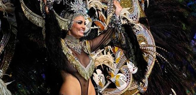 Adtemexi Cruz es la reina del Carnaval de Tenerife
