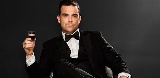 Robbie Williams se mete a agente secreto