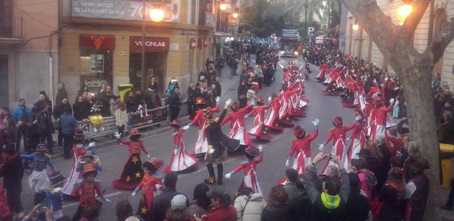Palma sale a la calle con la Rua