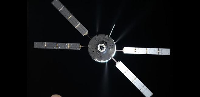 Una cámara registrará la desintegración de una nave espacial