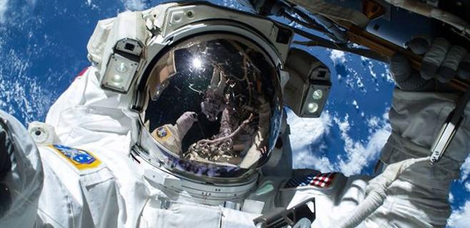 El selfie espacial