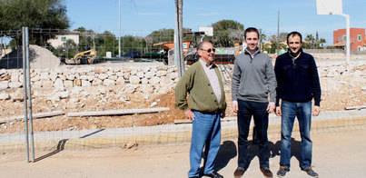 Las obras de la Plaça de Son Moja finalizarán en un mes