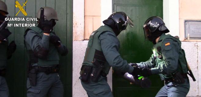 18 detenidos de 4 organizaciones tras la operación antidroga de la Guardia Civil