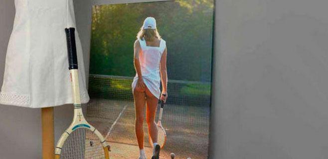 Wimbledon enseña el trasero de una tenista como promoción