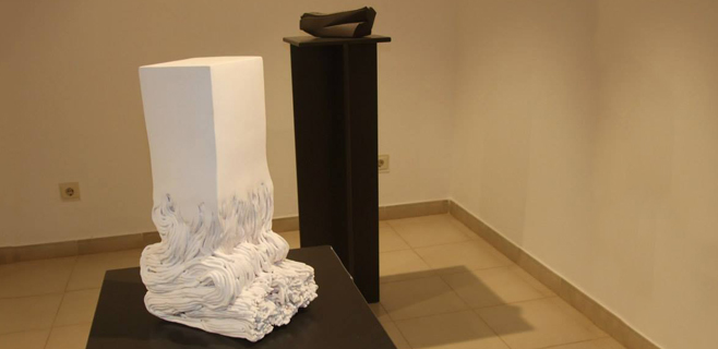 S'Escorxador ofrece una retrospectiva de la Bienal de Cerámica