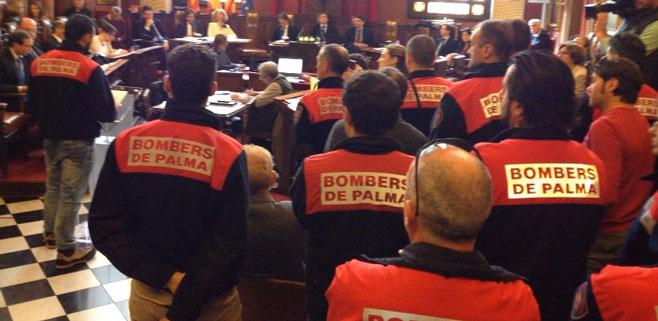 El Ajuntament de Palma deniega la recalificación laboral de los bomberos