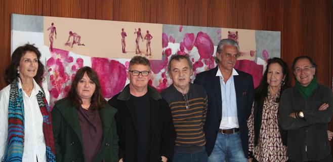CAEB recibe en depósito varias obras de pintores baleares