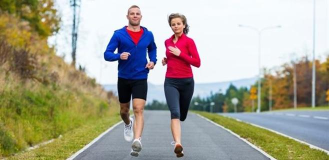 El deporte es mejor si se hace en pareja