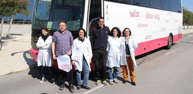 Trabajadores de Endesa donan sangre