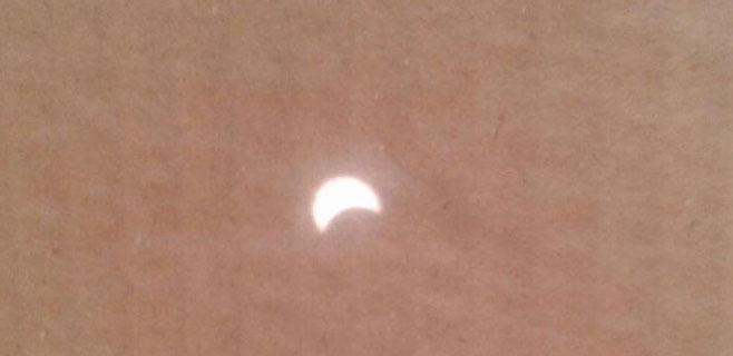 El eclipse desde Mallorca