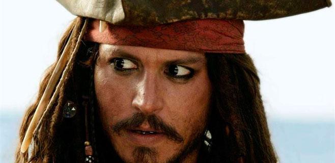 Johnny Depp, herido en el rodaje de Piratas del Caribe 5