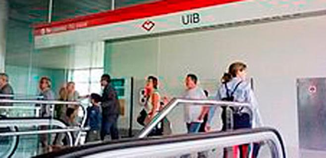 El Metro de Palma gana usuarios en detrimento del transporte en bus urbano