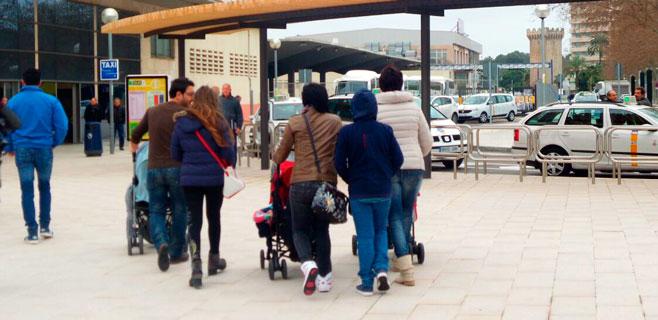 Ya están en Palma los turistas del crucero de Túnez