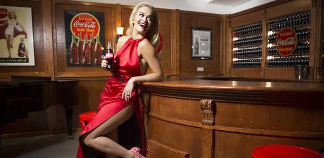 Rita Ora será la imagen de los 100 años de Coca-Cola