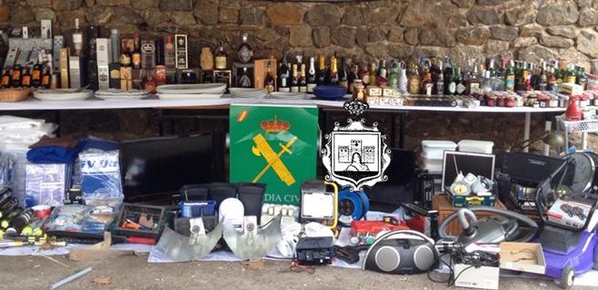 Detenidos 4 hombres en Capdepera por robos por valor de 25.000 euros