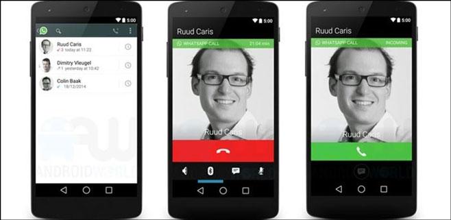 Ya se pueden hacer llamadas de voz vía WhatsApp