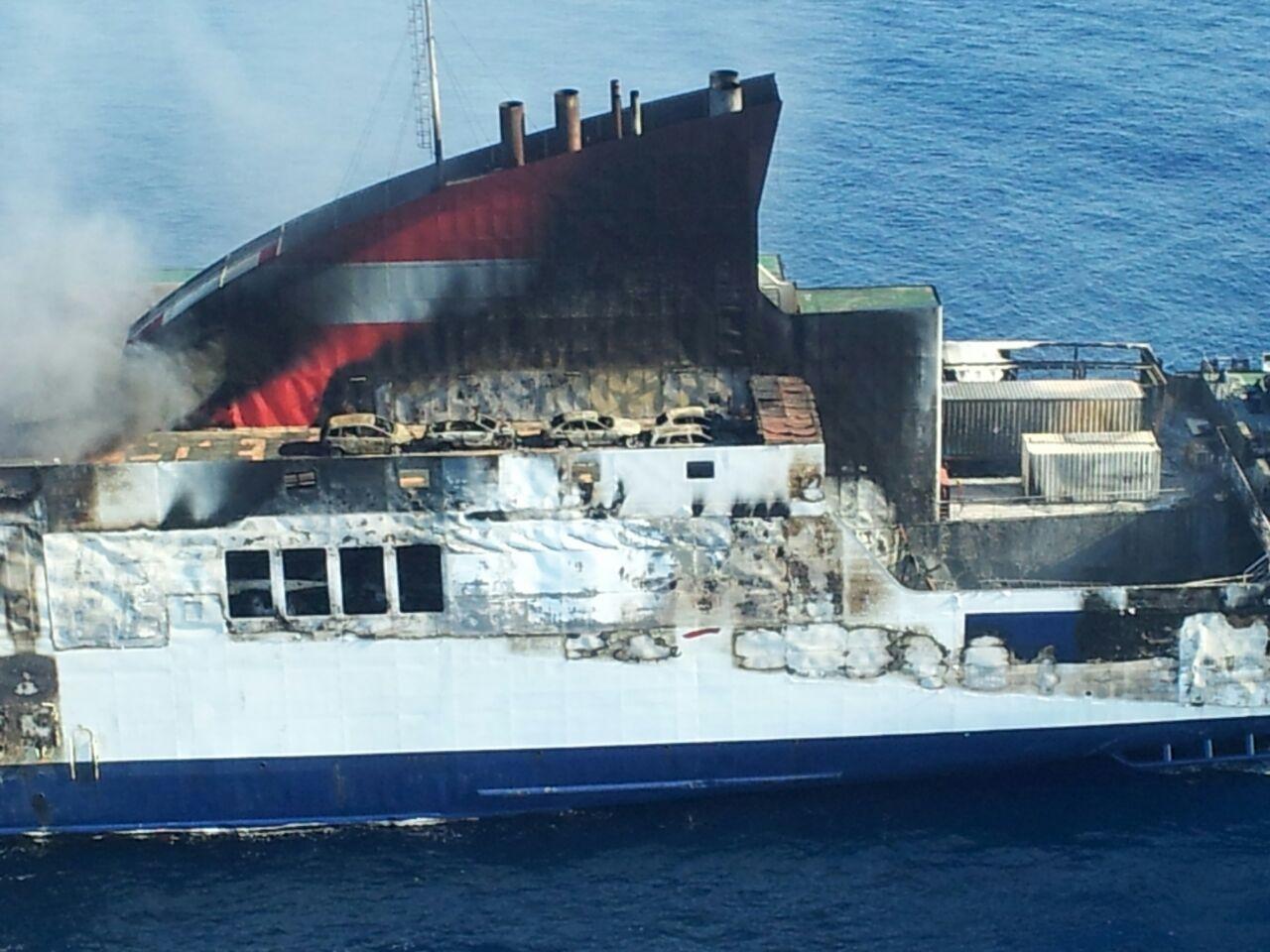 Los transportistas baleares afectados por el Sorrento se sienten abandonados