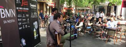 Las calles del centro de Palma suenan a Jazz