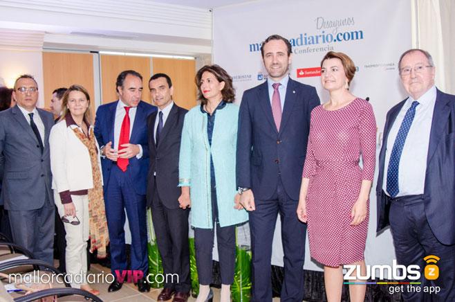 Políticos, empresarios y periodistas en Desayunos mallorcadiario.com