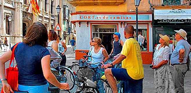 El uso diario de la bicicleta subió en las calles palmesanas un 6% en 2014