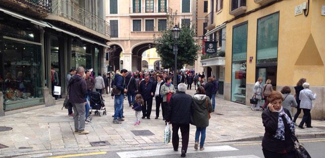 Balears recibió un 7,7% más de turistas hasta mayo respecto al año anterior